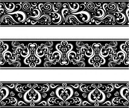 free vector Classic traditional pattern lace 04 vector