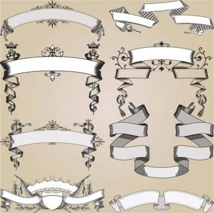 Europeanstyle lace pattern 04 vector