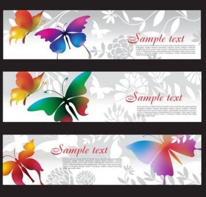 free vector Butterflies 02 vector