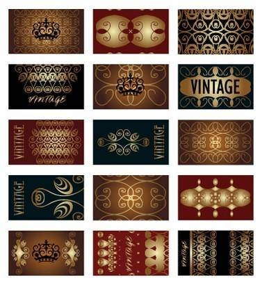 European border pattern vector