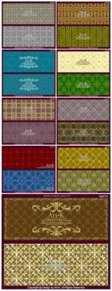 18 of the retro elegant lace pattern vector