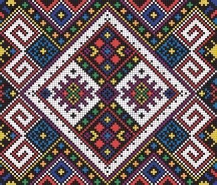 free vector Pixel pattern vector 3