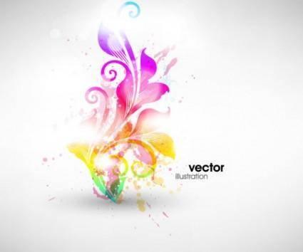 Symphony fashion pattern vector 2