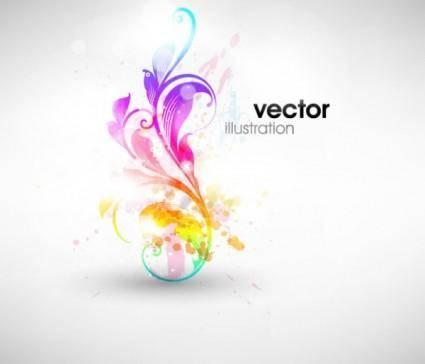 Symphony fashion pattern vector 3