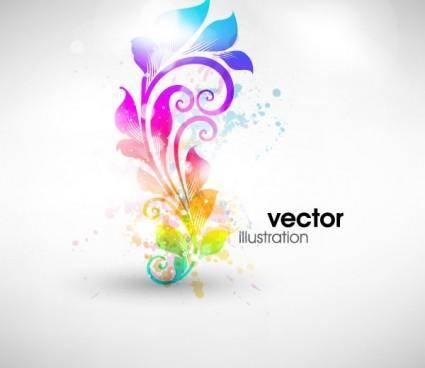 Fashion pattern vector 4 symphony