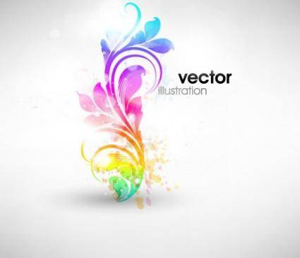 free vector Fashion pattern vector 5 symphony
