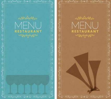 free vector Restaurant menu 02 vector