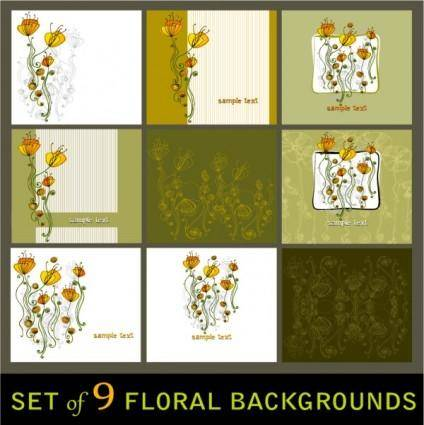 free vector Elegant patterns vector two