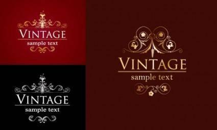 free vector European decorative pattern vector