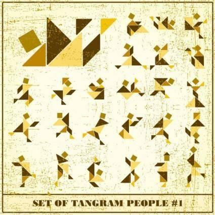 free vector Tangram 02 vector