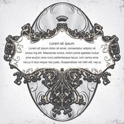 free vector Scene when europeanstyle lace border vector pattern 5