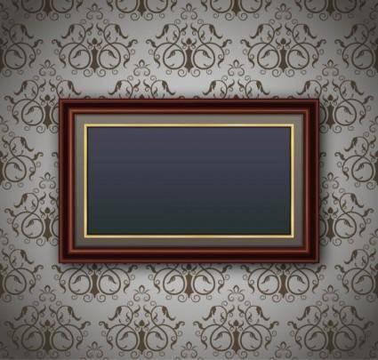 free vector Classic pattern border 02 vector
