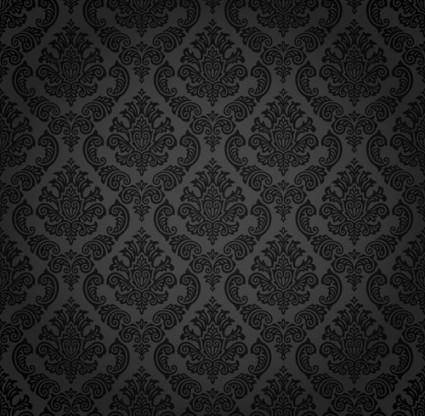 European gorgeous retro pattern vector 23485