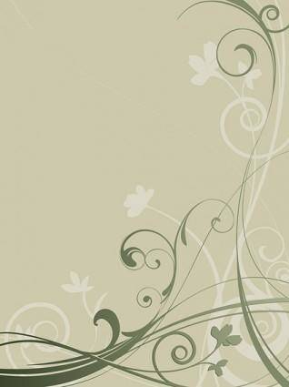 Silhouette pattern vector fashion design