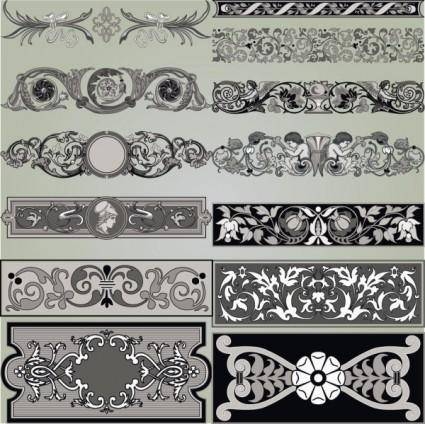 free vector Classic traditional pattern 03 vector
