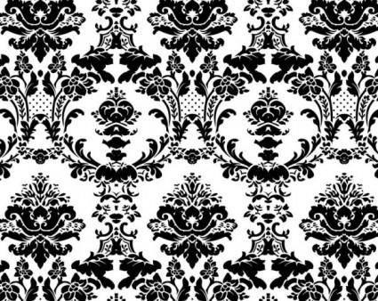 free vector European fine patterns 03 vector