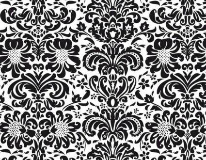 free vector European fine patterns 04 vector