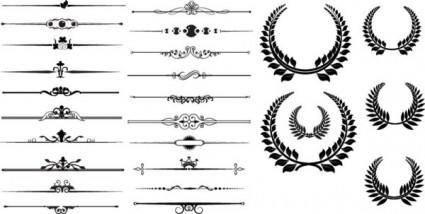 free vector Fine pattern border 02 vector