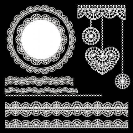 Classic pattern shading 02 vector