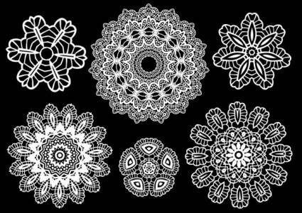 Classic pattern shading 03 vector