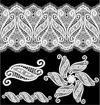 Classic pattern shading 05 vector