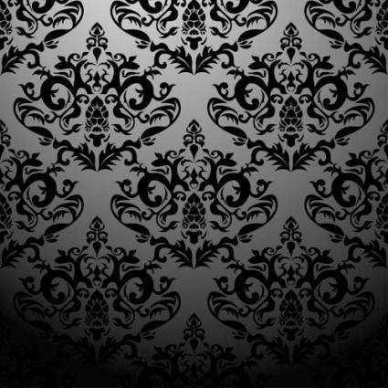 free vector European classic pattern shading 03 vector