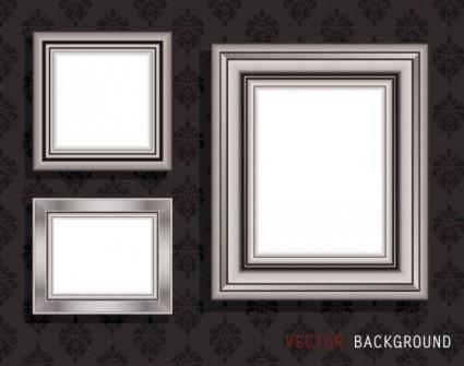 free vector Classic pattern border 04 vector