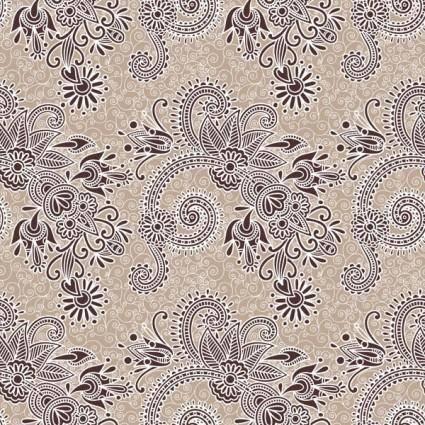 free vector Beautiful handpainted pattern vector 3