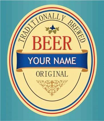 free vector Beer signs vector 5