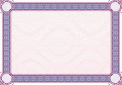 Classic pattern border security 03 vector