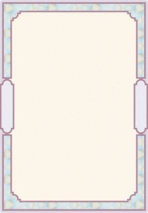Classic pattern border security 04 vector