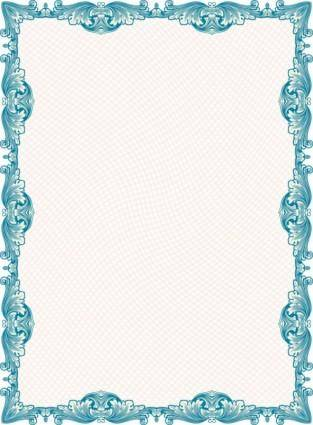 Classic pattern border security 05 vector