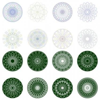 free vector Security pattern 03 vector