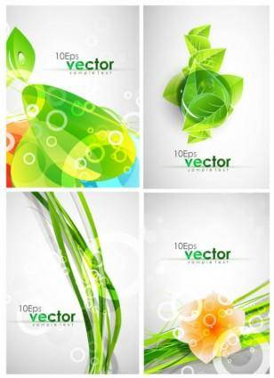 free vector Dynamic colorful patterns vector