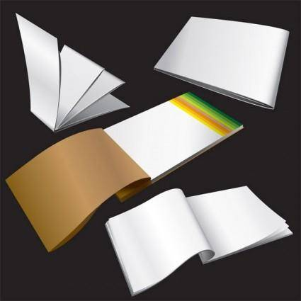 free vector Blank notepad vector