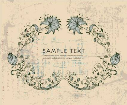 Fine pattern border 03 vector