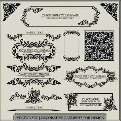 free vector European pattern patterns 03 vector