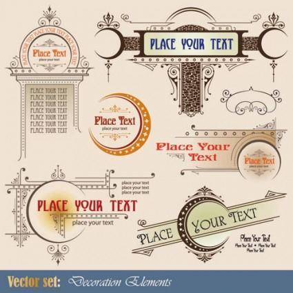 free vector European patterns graphics 01 vector