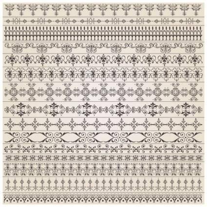 Fine pattern vector