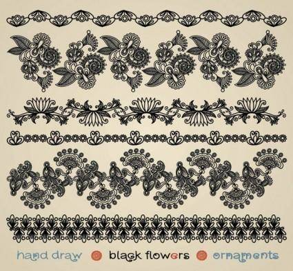free vector Papercut style of classical pattern vector 2