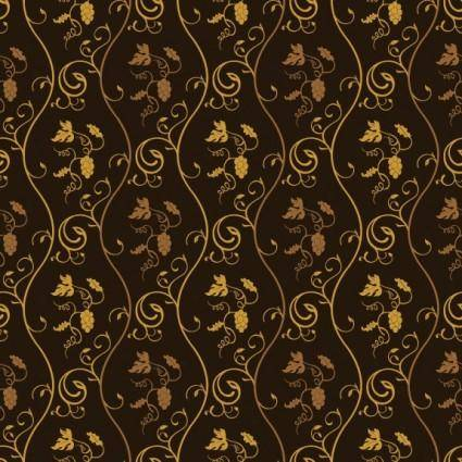 free vector European gorgeous shading pattern vector 2
