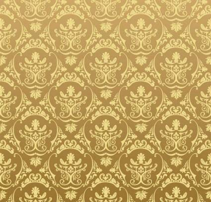 free vector European gorgeous shading pattern vector 5