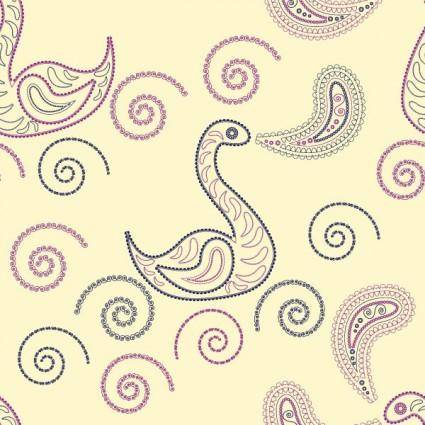 free vector Particular pattern vector 5 animal prints