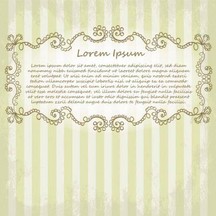 Beautiful lace pattern 05 vector
