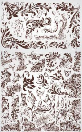 free vector Crude fashion pattern vector