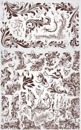 Crude fashion pattern vector