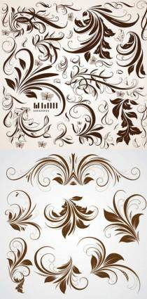 Pattern shading pattern vector