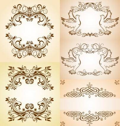 Beautiful pattern vector