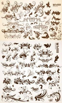 free vector Common pattern vector
