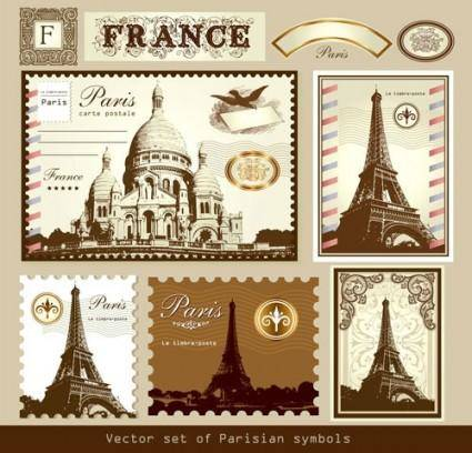 free vector Paris france vector 1
